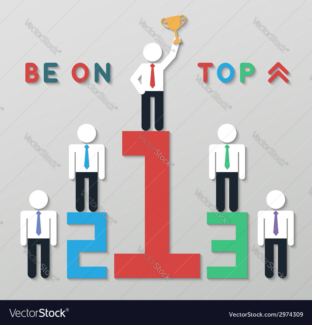 Idea leadership business concept vector   Price: 1 Credit (USD $1)