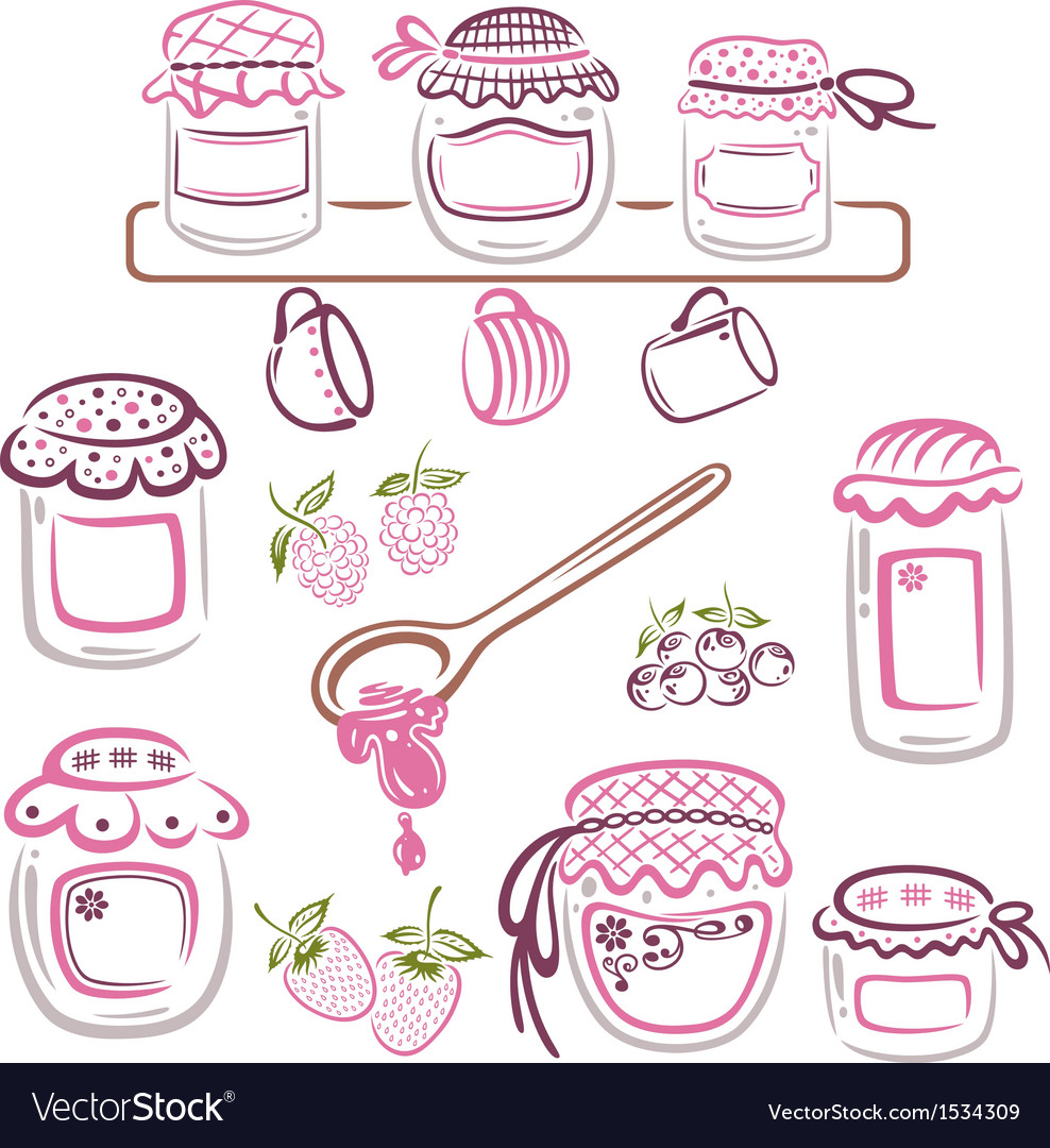 Jam design elements vector | Price: 1 Credit (USD $1)