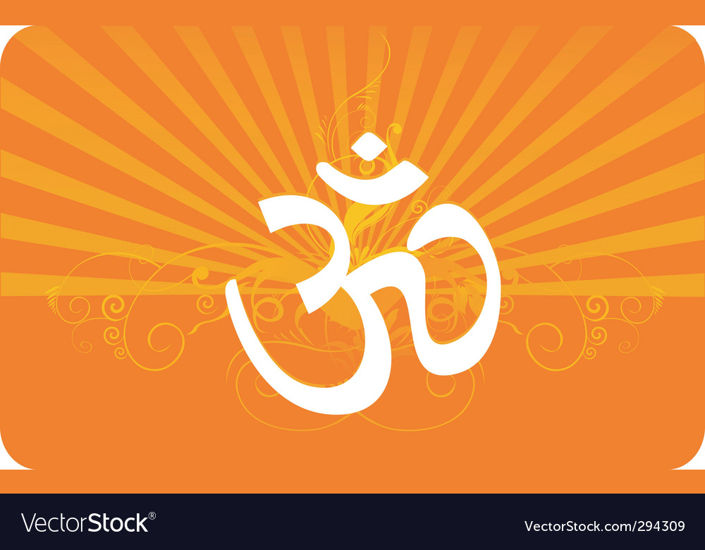 Om vector | Price: 1 Credit (USD $1)