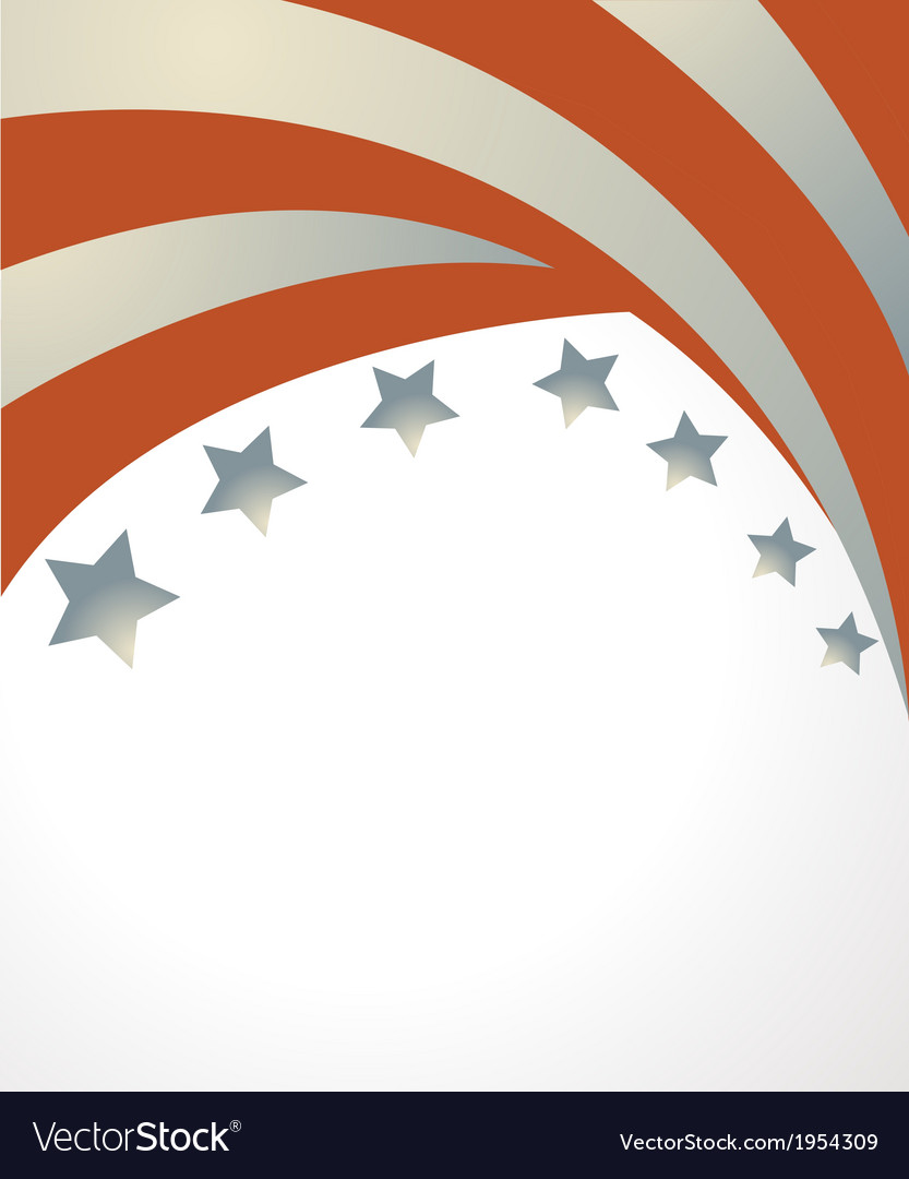 Stars and stripes background vector | Price: 1 Credit (USD $1)