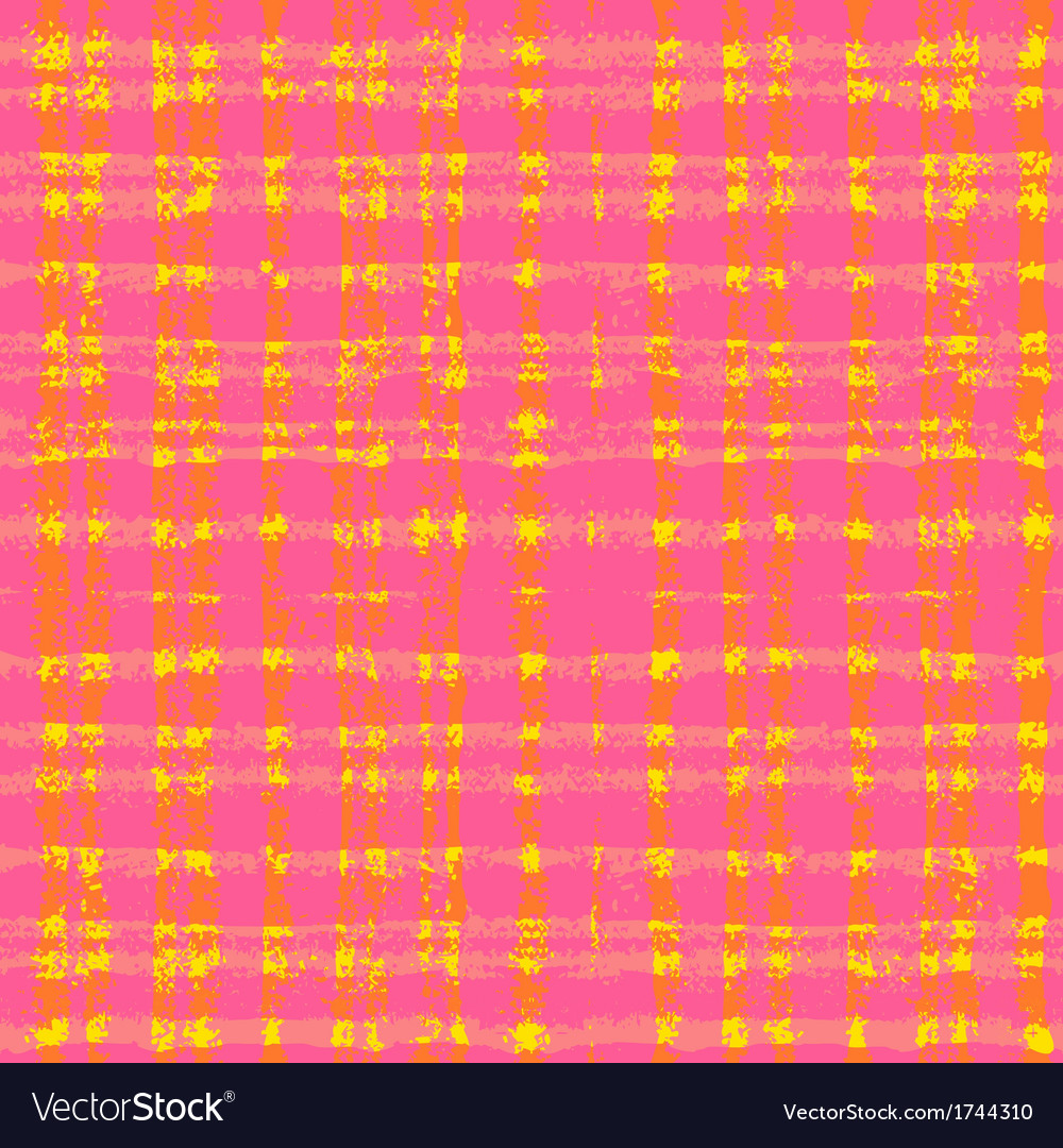 Plaid pattern with crossing watercolor lines vector | Price: 1 Credit (USD $1)