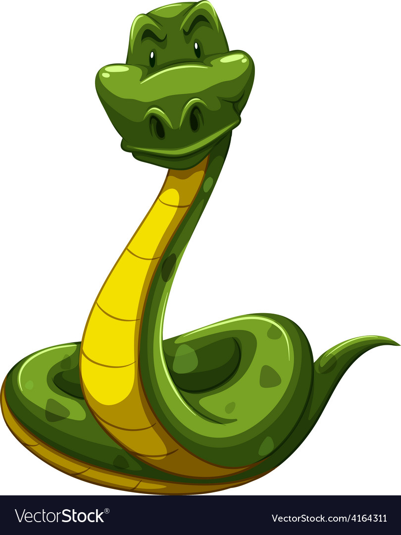 Scary snake vector | Price: 1 Credit (USD $1)
