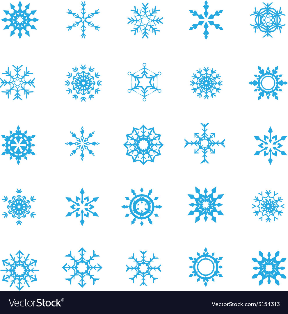 008 christmas snow flakes 004 vector | Price: 1 Credit (USD $1)