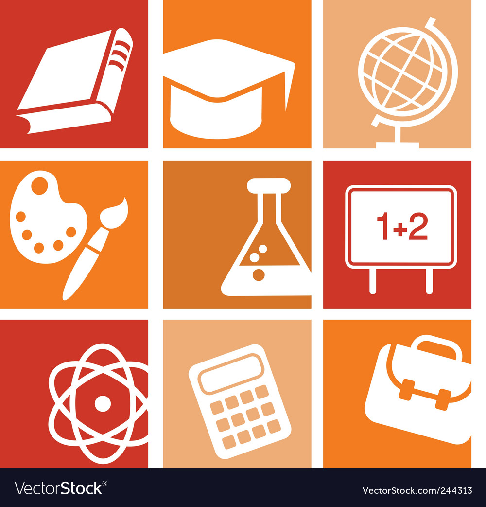 Education learning vector | Price: 1 Credit (USD $1)