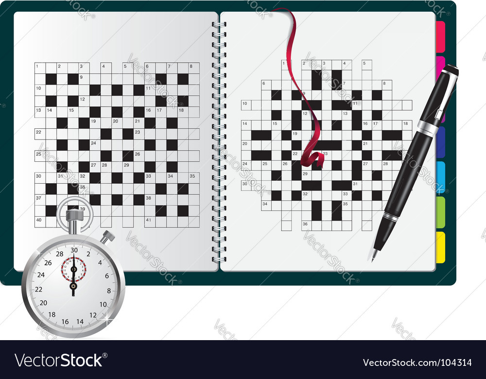Crossword vector | Price: 1 Credit (USD $1)
