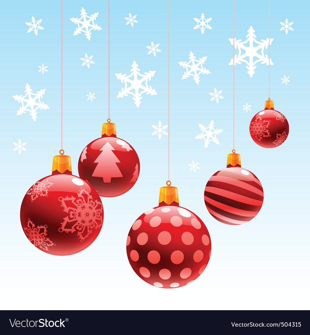 Christmas ornament ball vector | Price: 1 Credit (USD $1)
