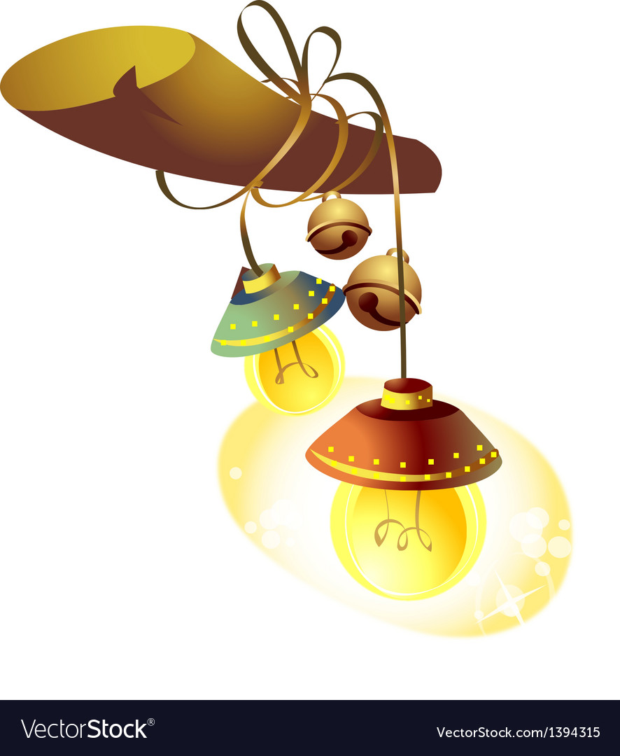 Icon lamp vector | Price: 1 Credit (USD $1)