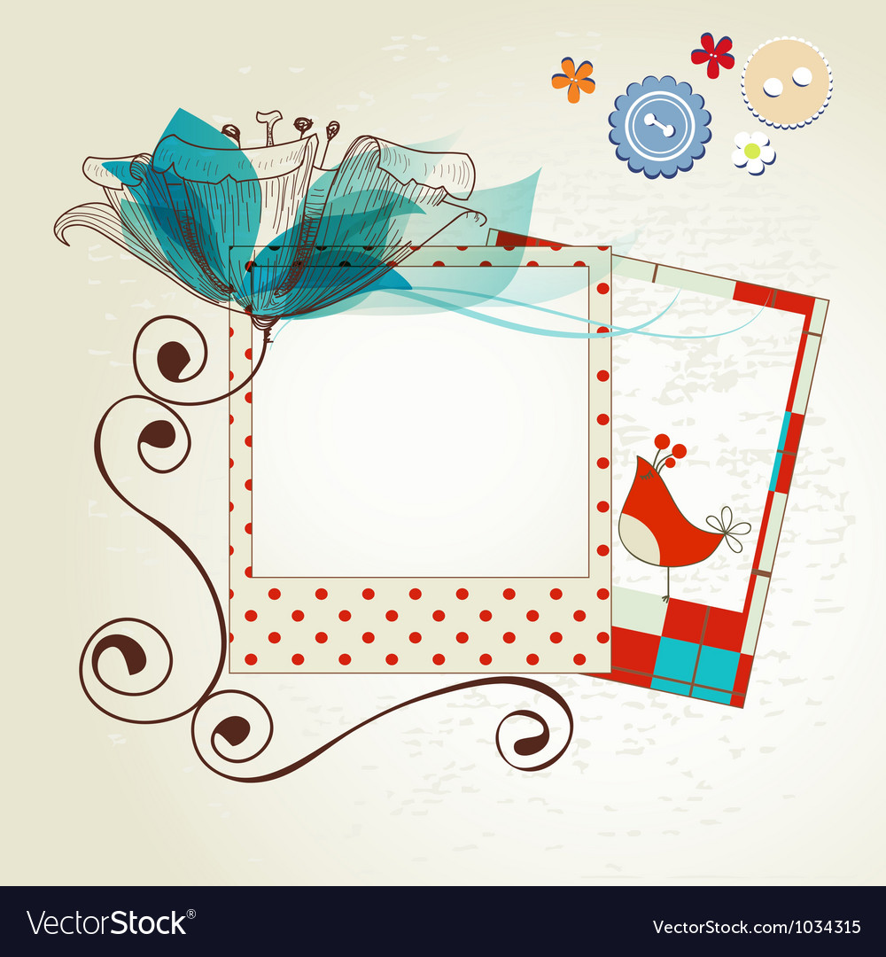 Scrapbook kit vector | Price: 1 Credit (USD $1)