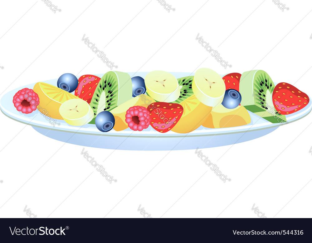 Fruit salad vector   Price: 1 Credit (USD $1)