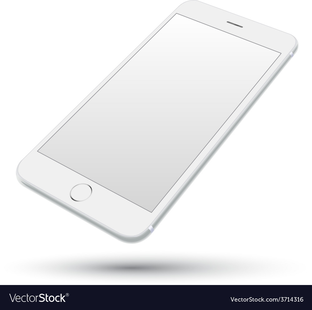 Smartphone realistic vector | Price: 1 Credit (USD $1)