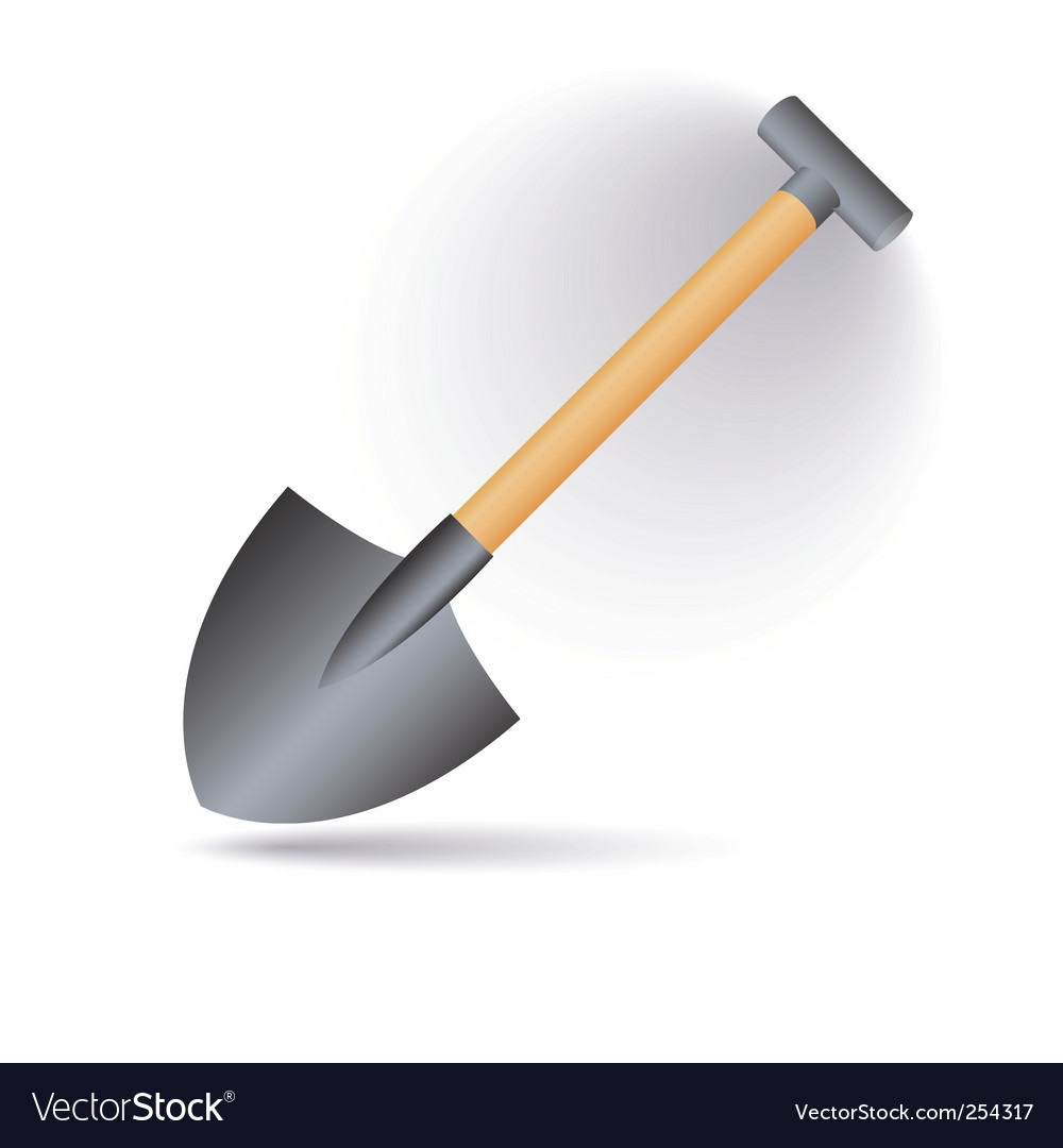 Shovel vector | Price: 1 Credit (USD $1)