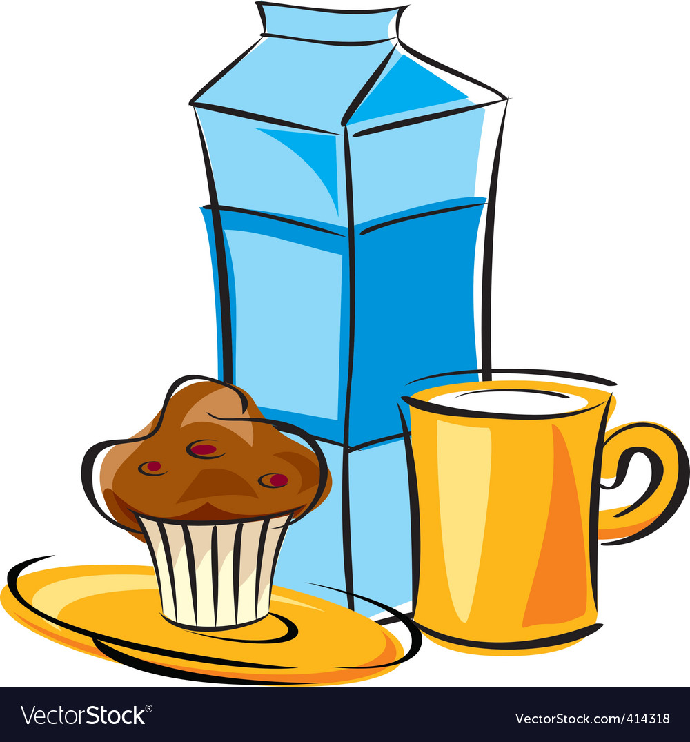 Dairy breakfast vector | Price: 1 Credit (USD $1)