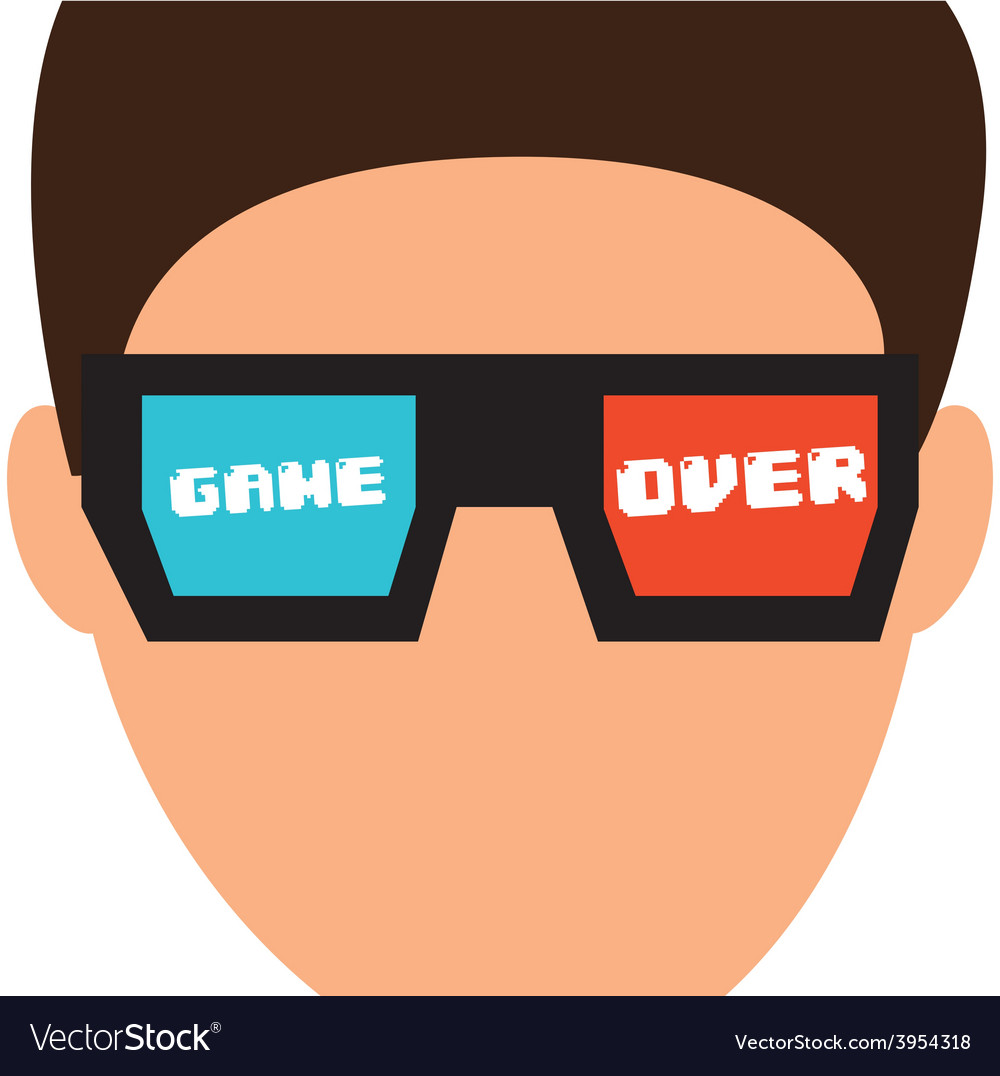 Video gamers vector | Price: 1 Credit (USD $1)
