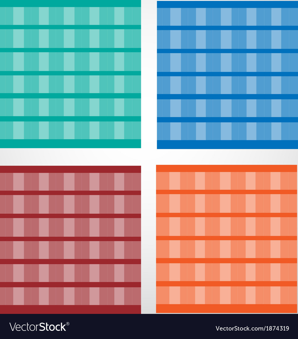 Background and tiles pattern set vector | Price: 1 Credit (USD $1)