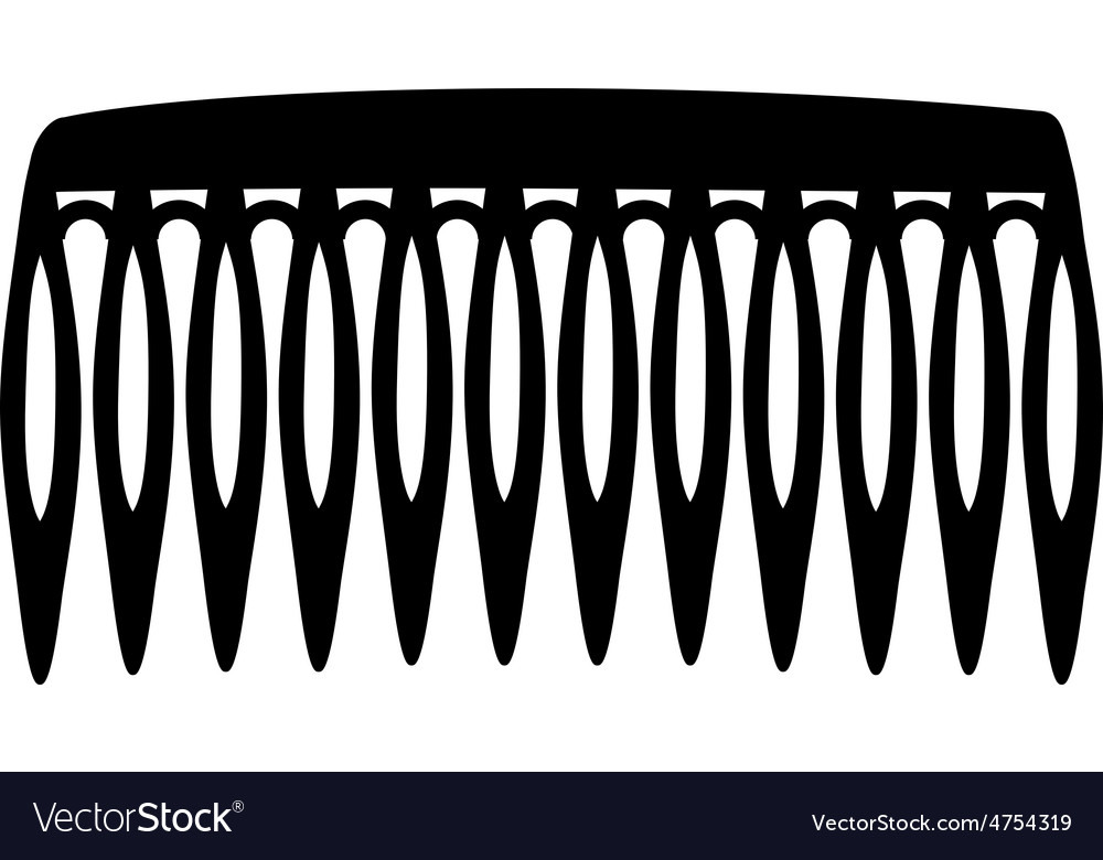 Hair comb vector | Price: 1 Credit (USD $1)
