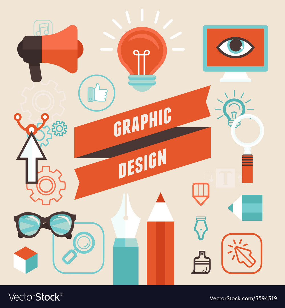 Vetor graphic designer vector | Price: 1 Credit (USD $1)
