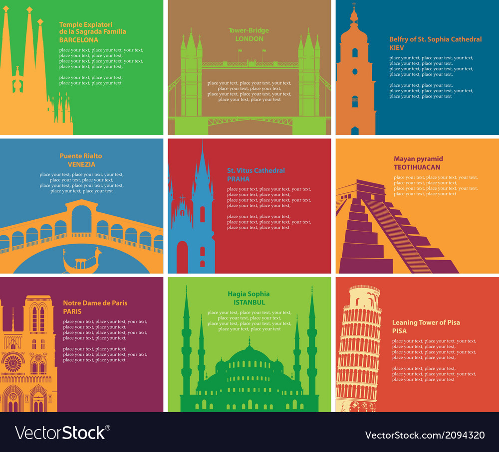 Landmark vector | Price: 1 Credit (USD $1)