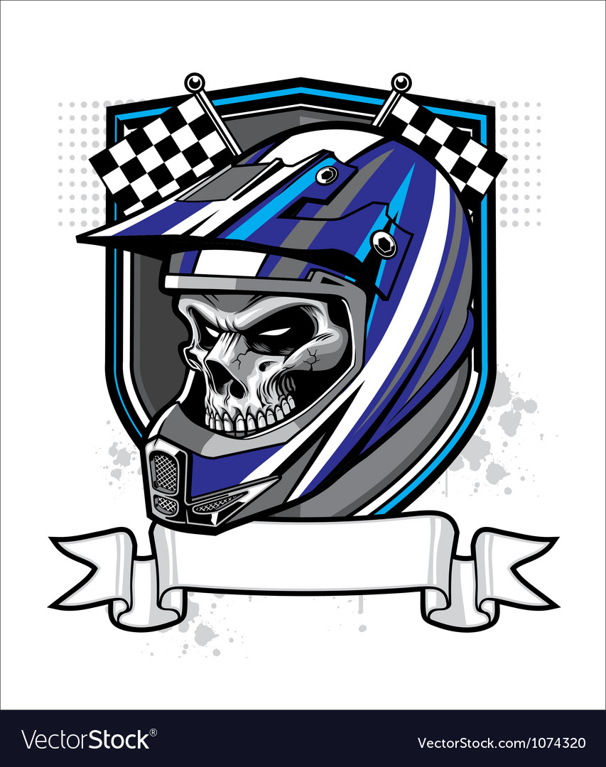 Skull rider vector | Price: 3 Credit (USD $3)