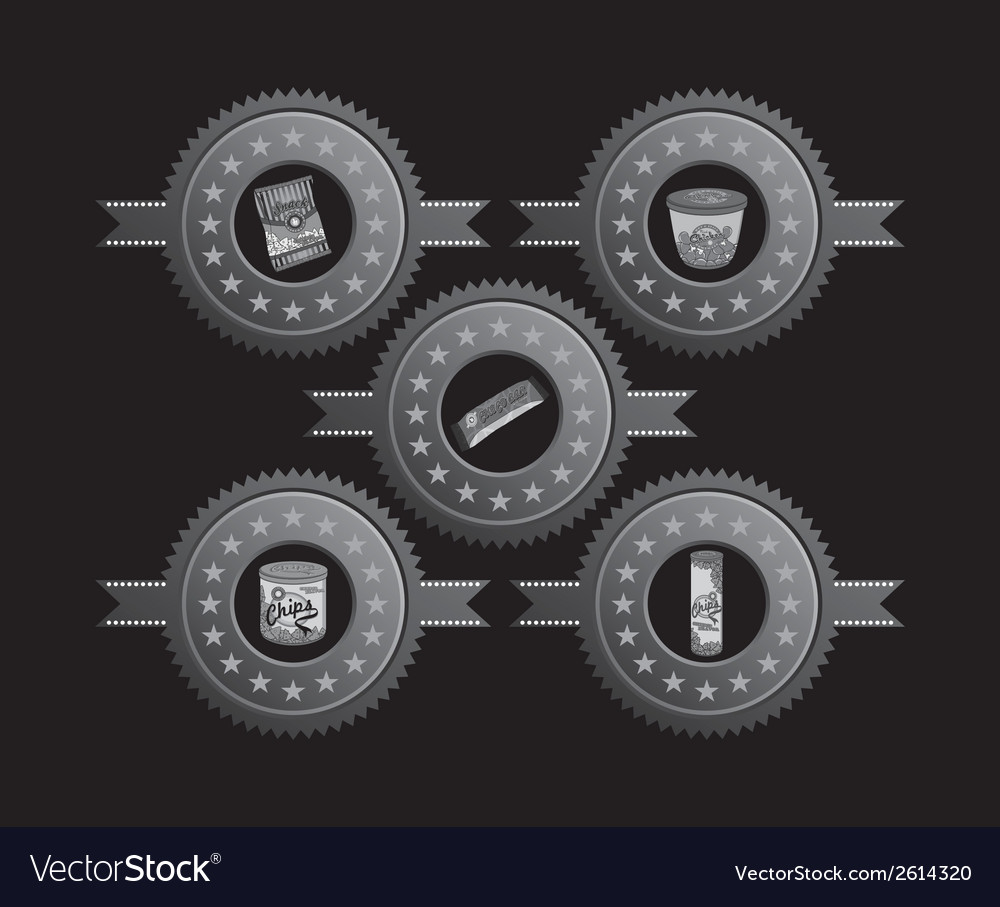 Snack food vector | Price: 1 Credit (USD $1)