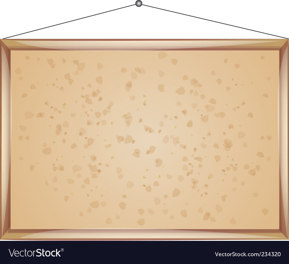 Tack board vector | Price: 1 Credit (USD $1)
