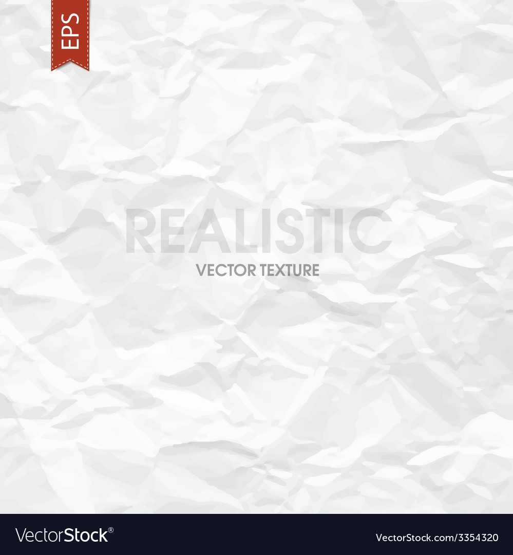 Wrinkled paper texture vector | Price: 1 Credit (USD $1)