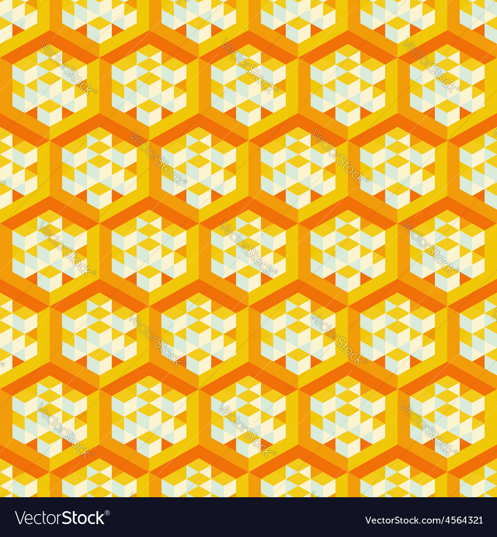 Abstract geometrical 3d background seamless vector | Price: 1 Credit (USD $1)