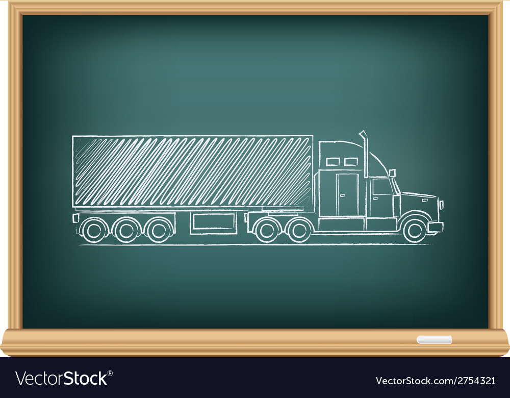 Board truck vector | Price: 1 Credit (USD $1)