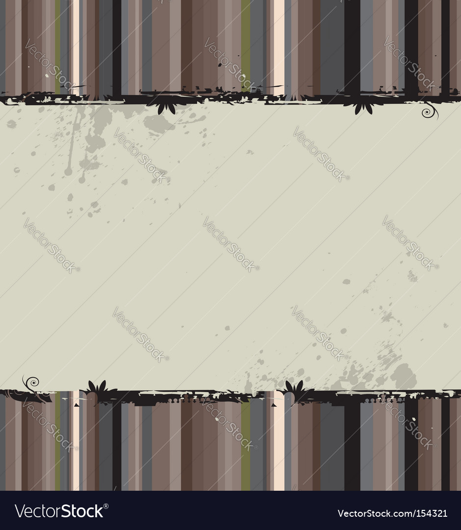Grunge striped background vector | Price: 1 Credit (USD $1)