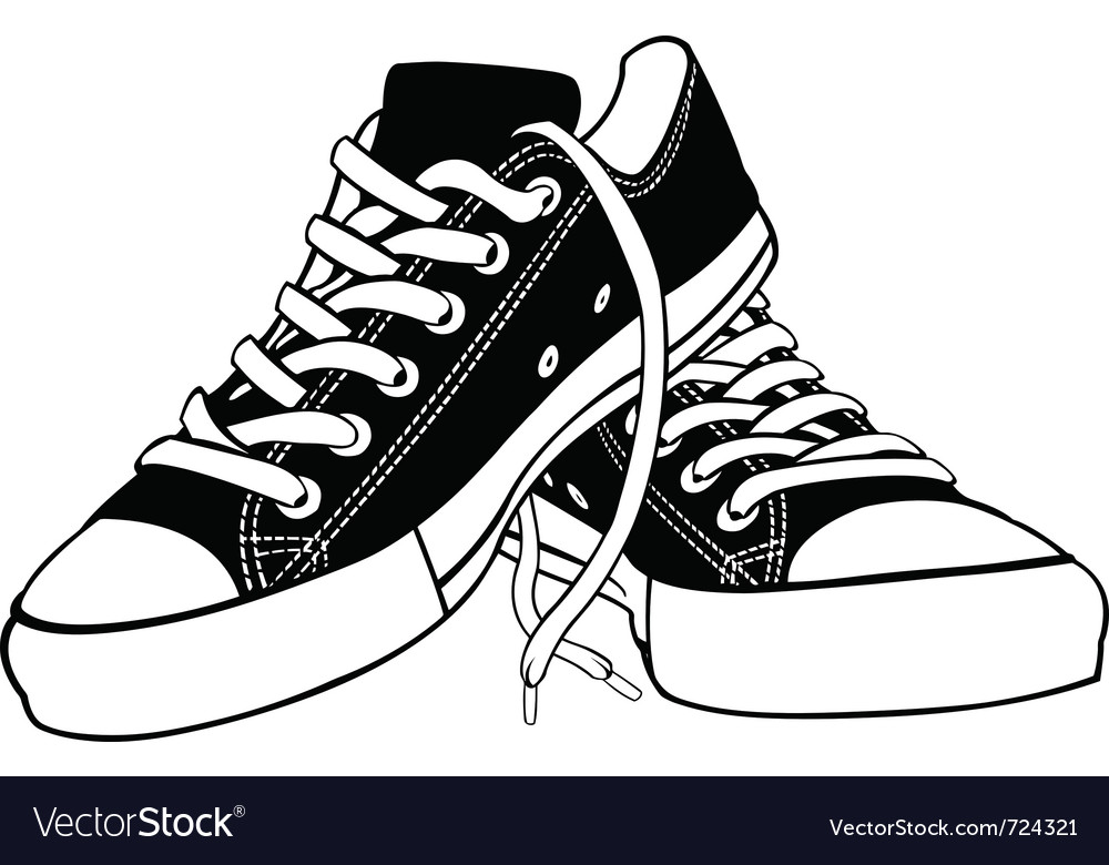 Of shoes vector | Price: 1 Credit (USD $1)