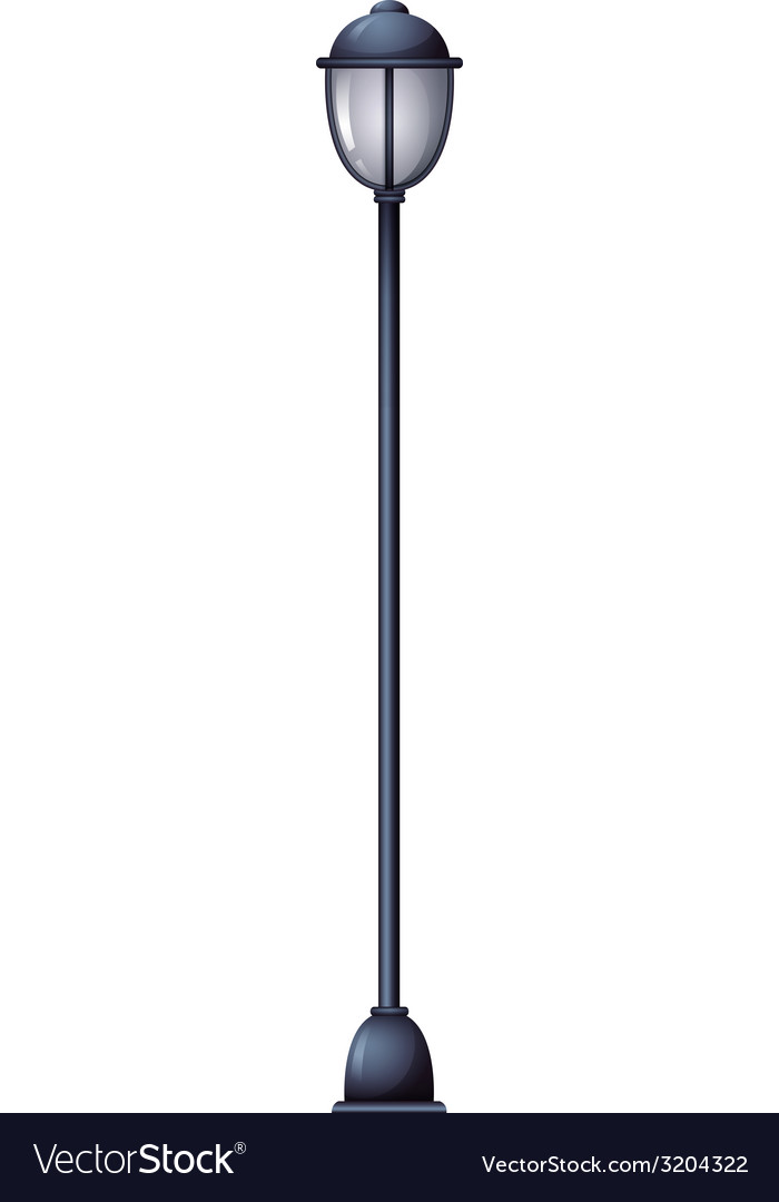 A lamp post vector | Price: 1 Credit (USD $1)