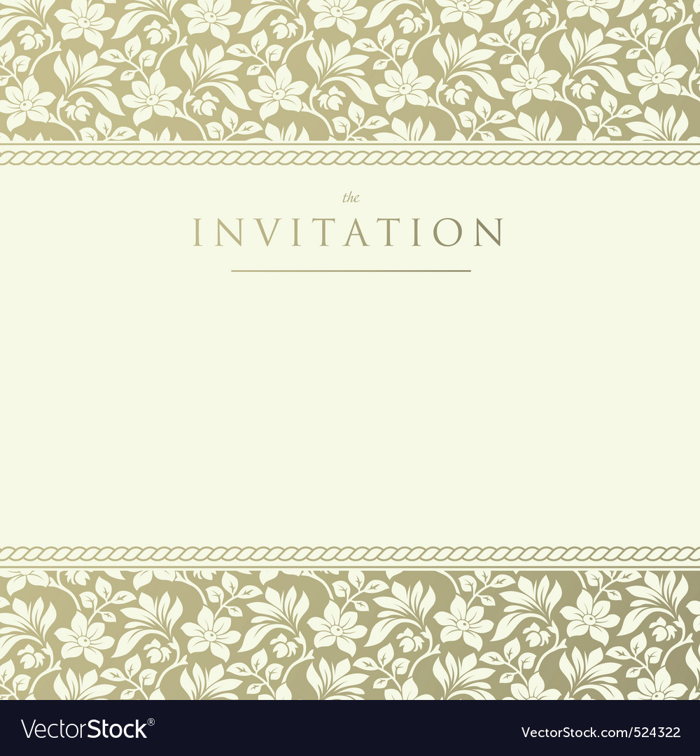 Invitation to the wedding vector | Price: 1 Credit (USD $1)