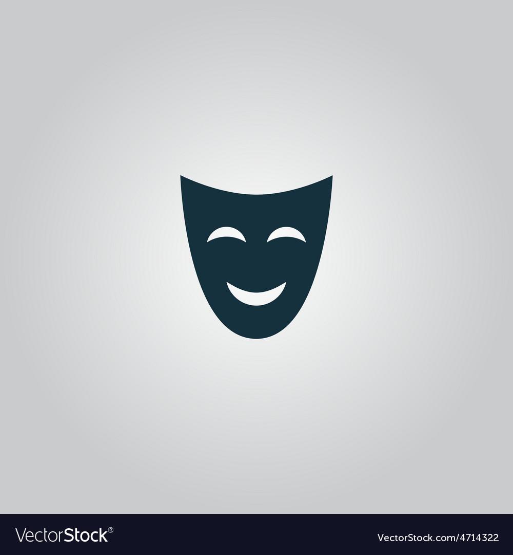 Joyful mask vector | Price: 1 Credit (USD $1)