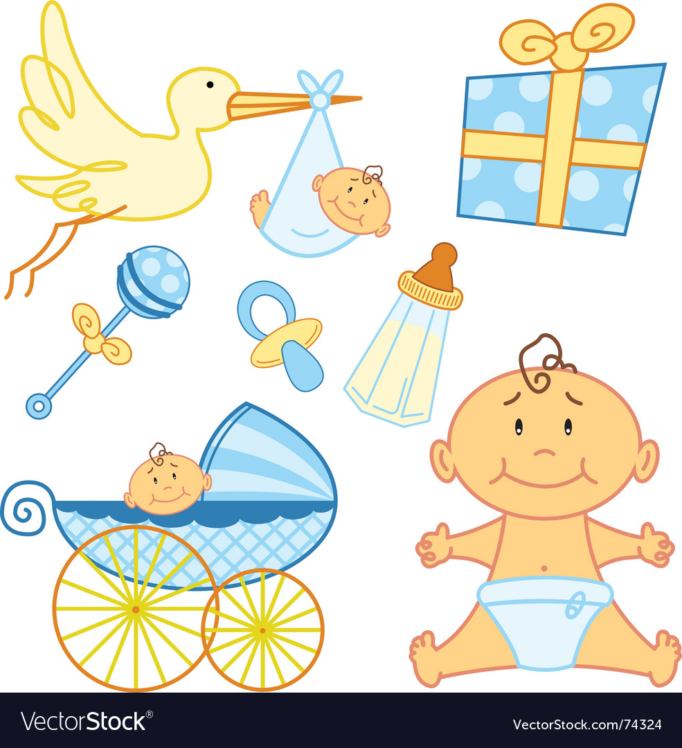 Baby cards vector | Price: 1 Credit (USD $1)