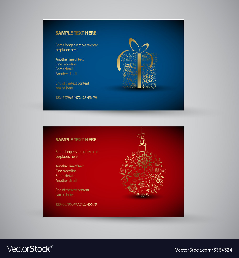 Set of christmas new year banners 2012 vector   Price: 1 Credit (USD $1)