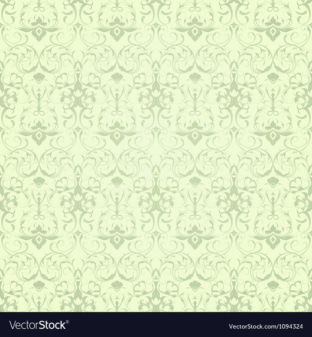 Wallpaper pattern seamless vector | Price: 1 Credit (USD $1)