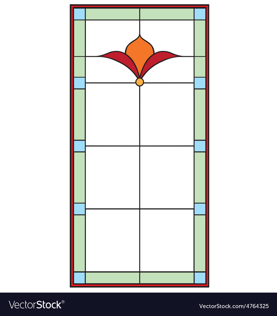 Stained glass vector | Price: 1 Credit (USD $1)