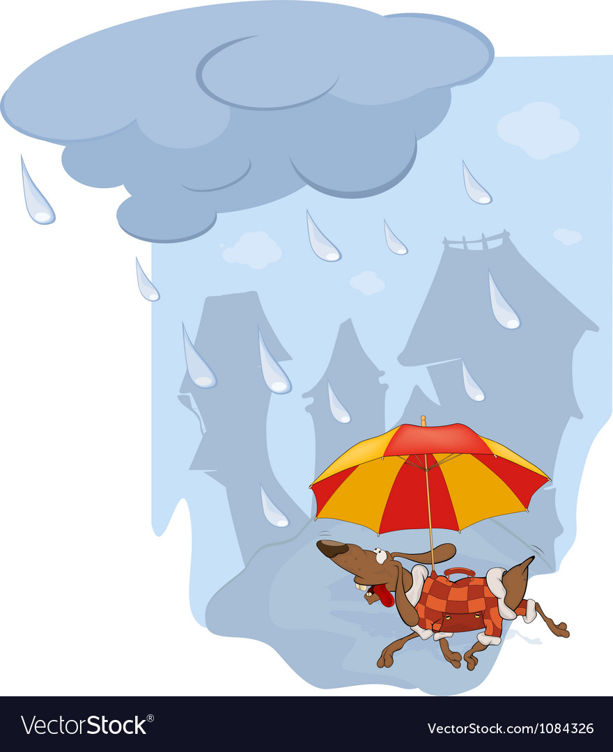 The rate and umbrella vector | Price: 1 Credit (USD $1)
