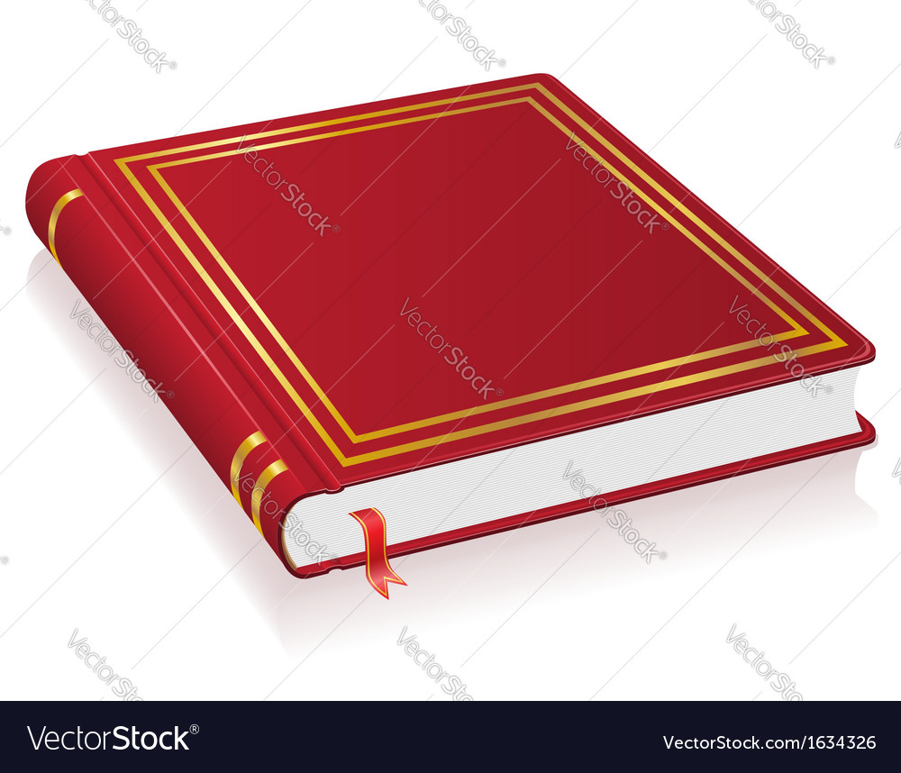 Red book vector | Price: 1 Credit (USD $1)
