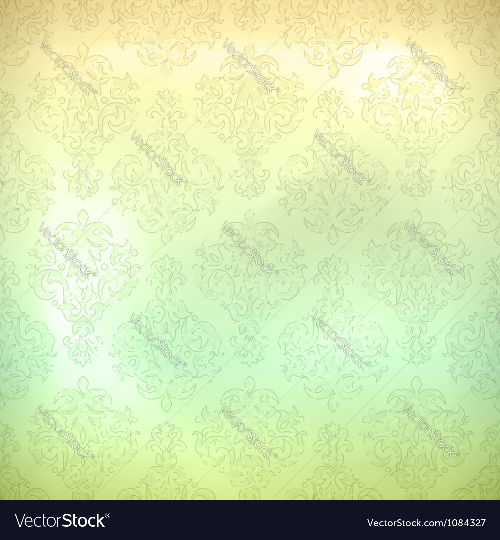 Grunge retro seamless pattern wallpaper vector | Price: 1 Credit (USD $1)