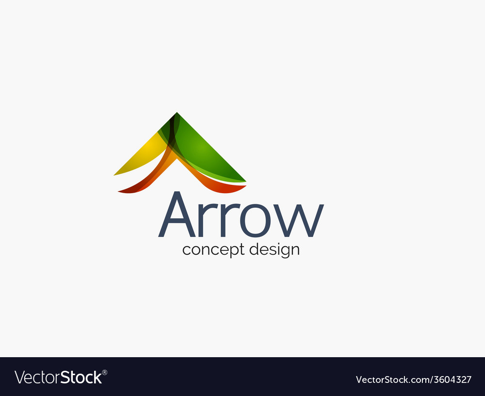 Modern company logo clean glossy design vector   Price: 1 Credit (USD $1)