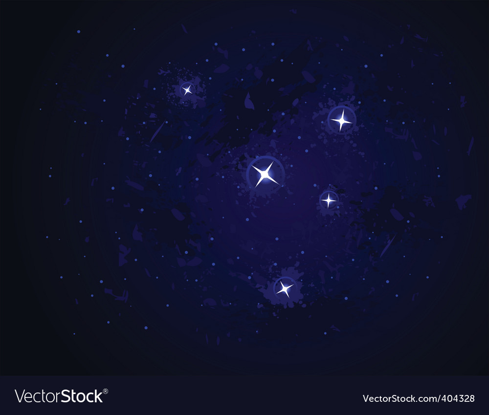 Galaxy stars vector | Price: 1 Credit (USD $1)
