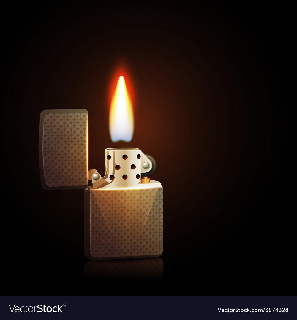 Gasoline lighter vector | Price: 1 Credit (USD $1)
