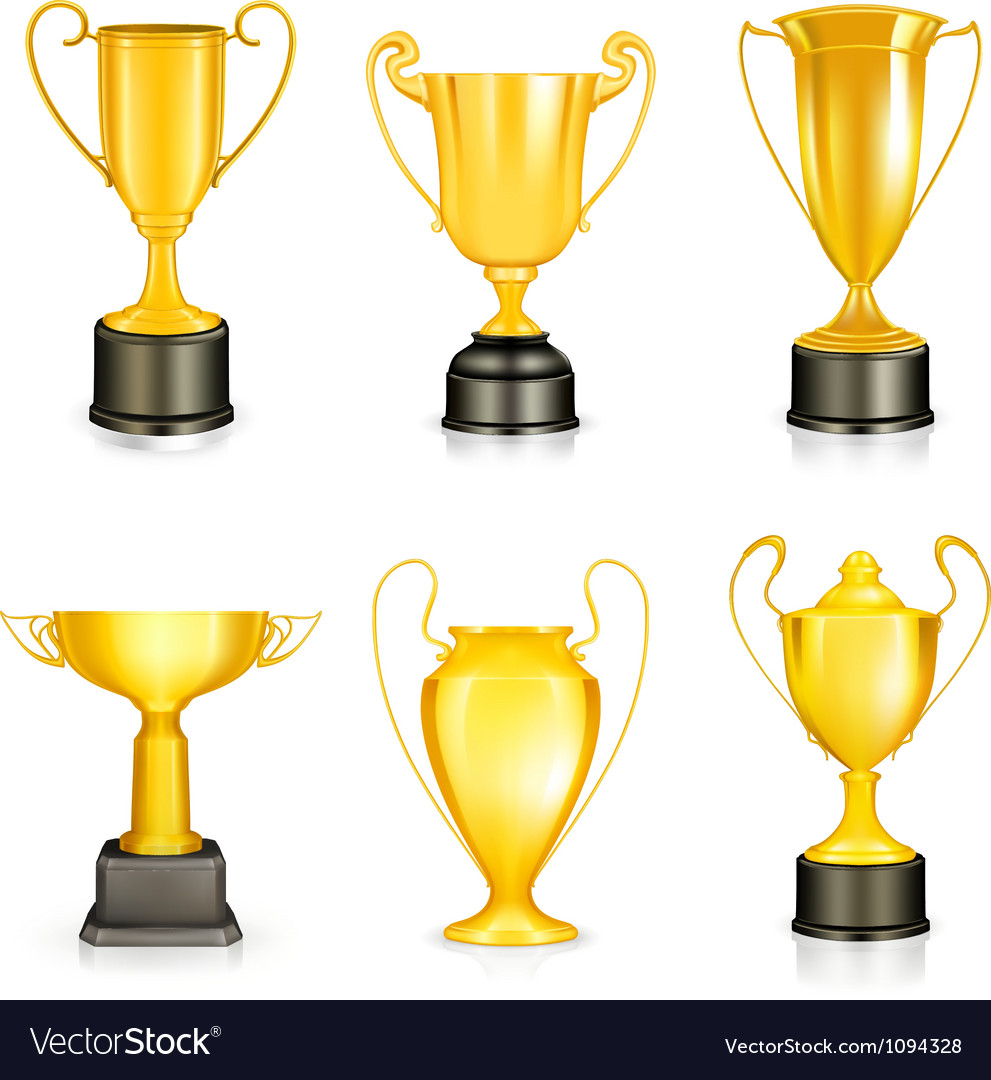 Gold trophy vector | Price: 1 Credit (USD $1)