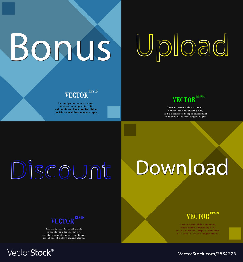 Set of the most popular web design icons on vector | Price: 1 Credit (USD $1)