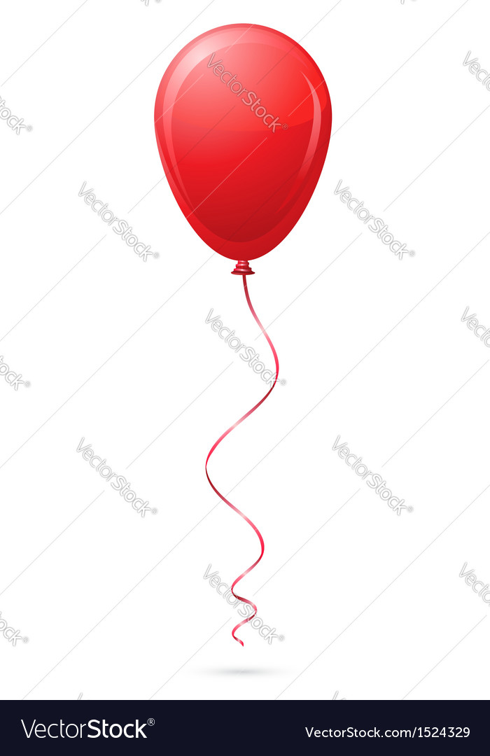 Balloon 02 vector | Price: 1 Credit (USD $1)