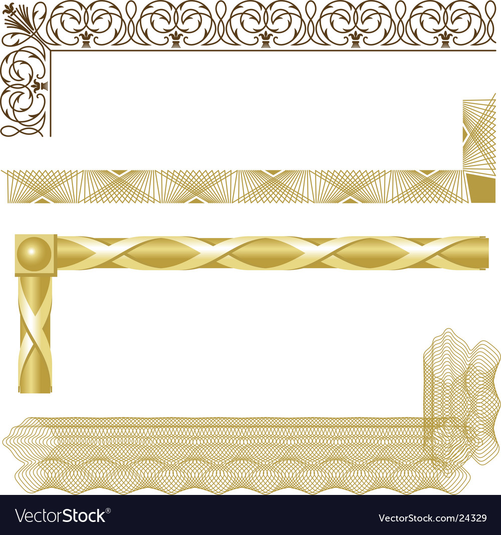 Borders vector | Price: 1 Credit (USD $1)