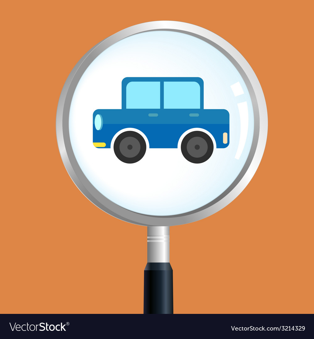 Carsearch vector | Price: 1 Credit (USD $1)