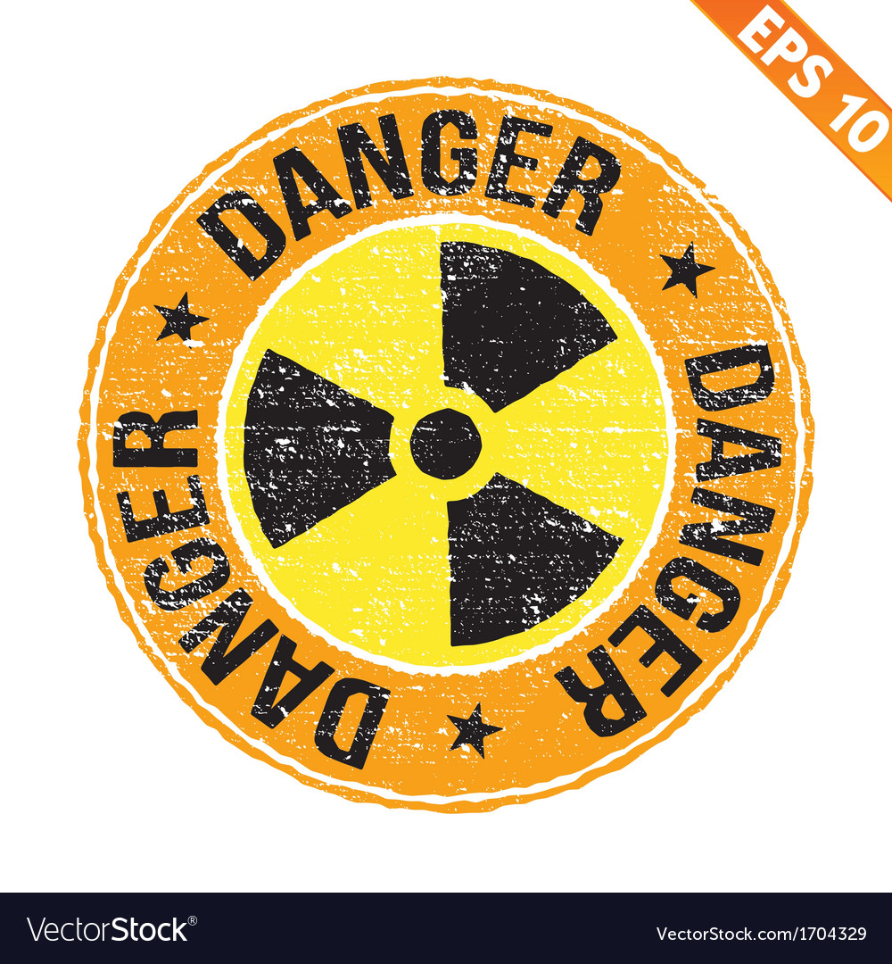 Stamp sticker nuclear collection - - eps10 vector | Price: 1 Credit (USD $1)