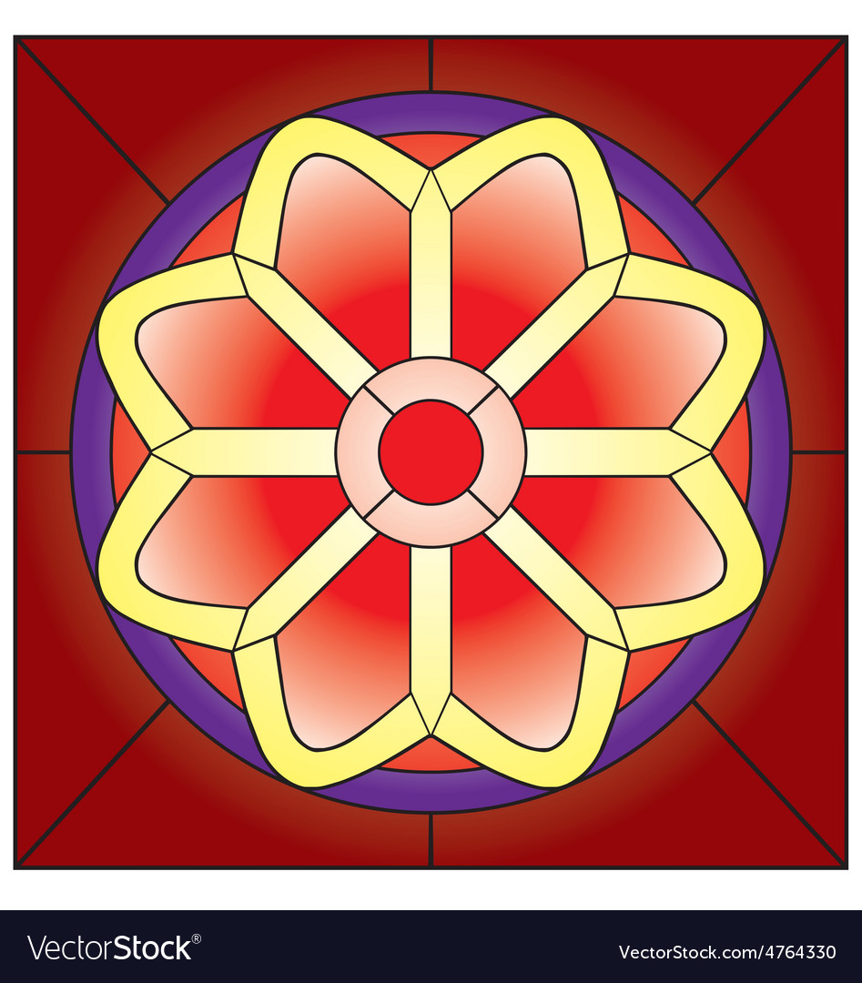 Stained glass vector   Price: 1 Credit (USD $1)