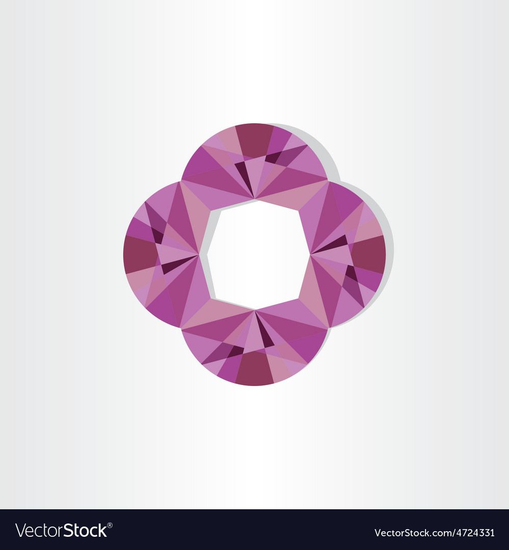 Abstract purple geometric background vector   Price: 1 Credit (USD $1)